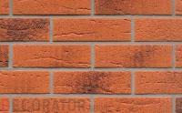 Клинкерная облицовочная плитка Feldhaus Klinker R228 terracotta rustico carbo, 240*71*14 мм